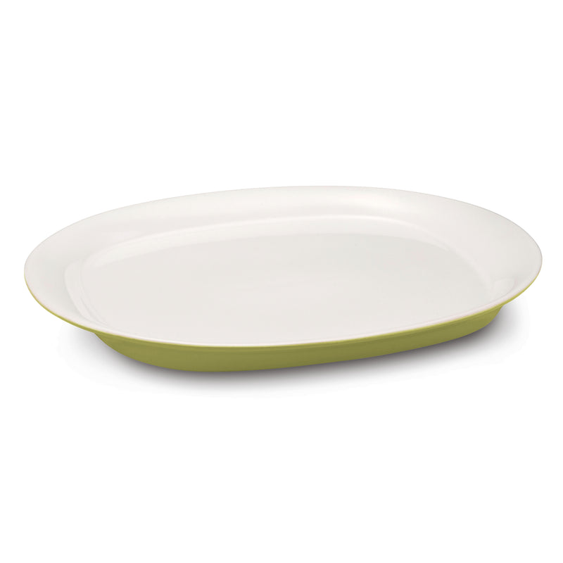 Round and Square 14-Inch Round Serving Platter