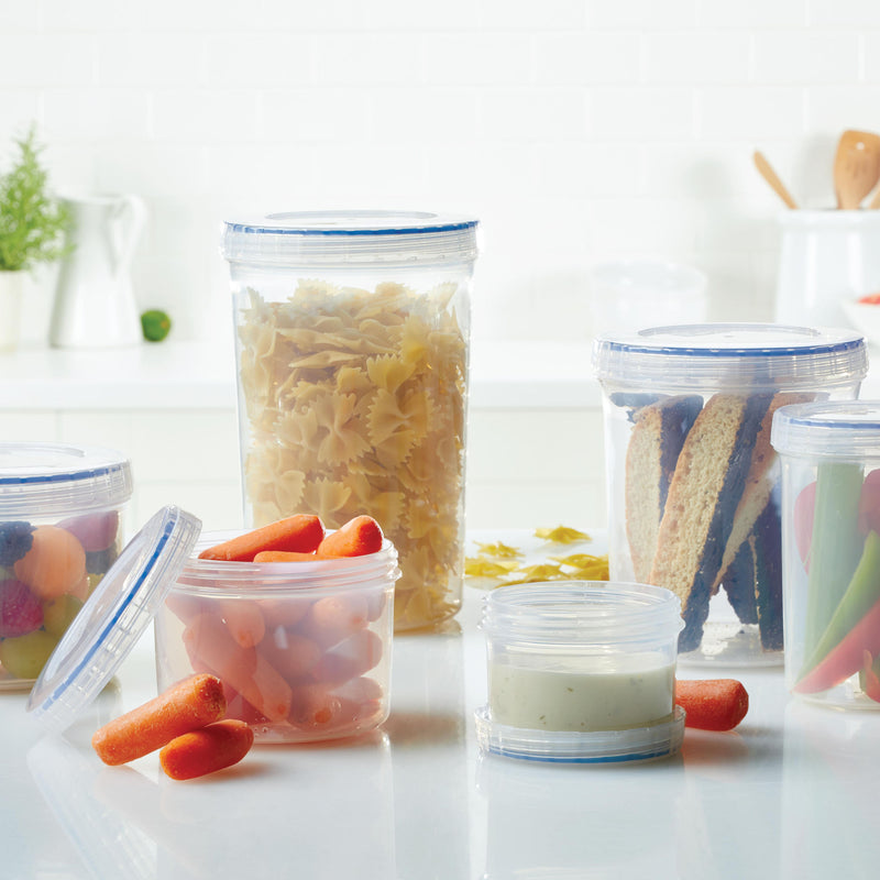Easy Essentials Twist 6-Piece 12-Oz. Container Set