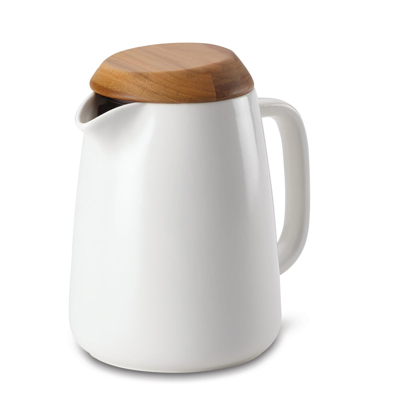 34-Oz  Ceramic Coffee Pot