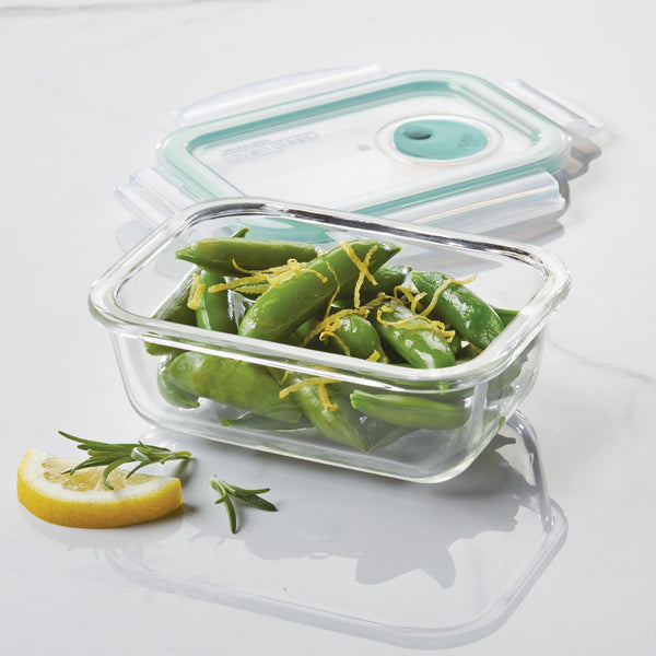 Purely Better™ Glass 4-Piece 13-Oz. Vented Container Set