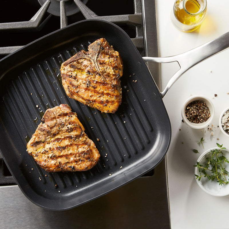 Allure 11-Inch Deep Square Grill Pan