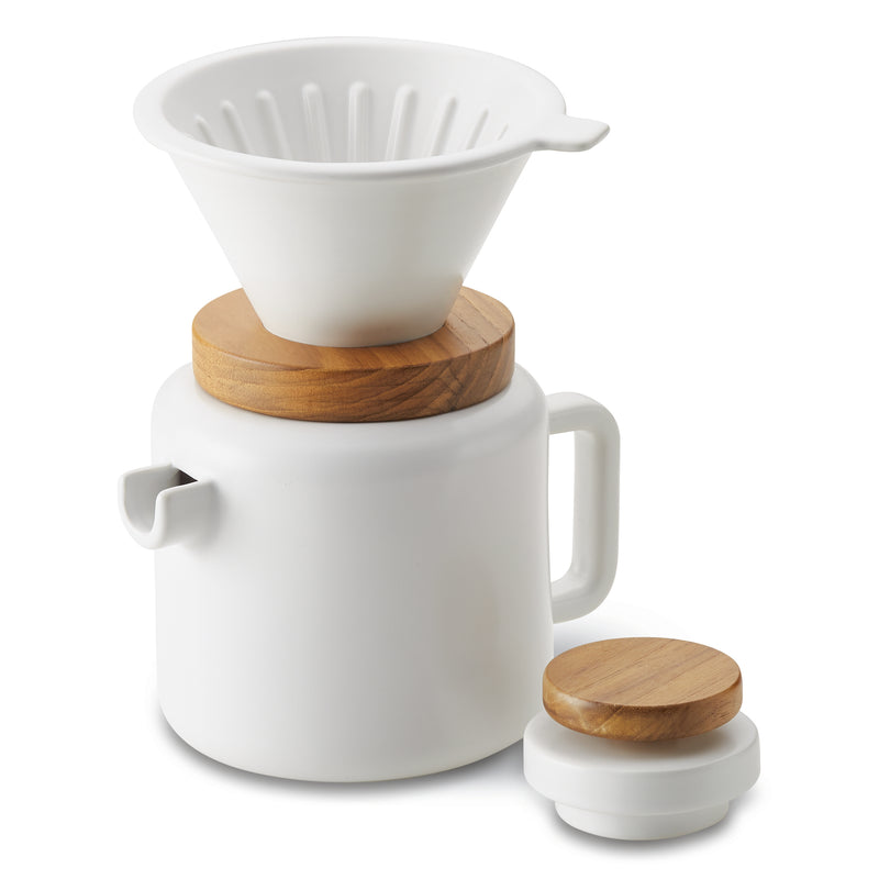 20-Ounce Ceramic Pour Over Set