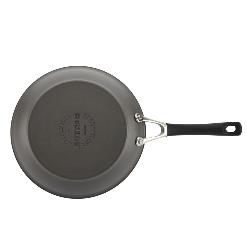 "Innovatum Hard Anodized 8.5"" & 10"" Frying Pan Set"