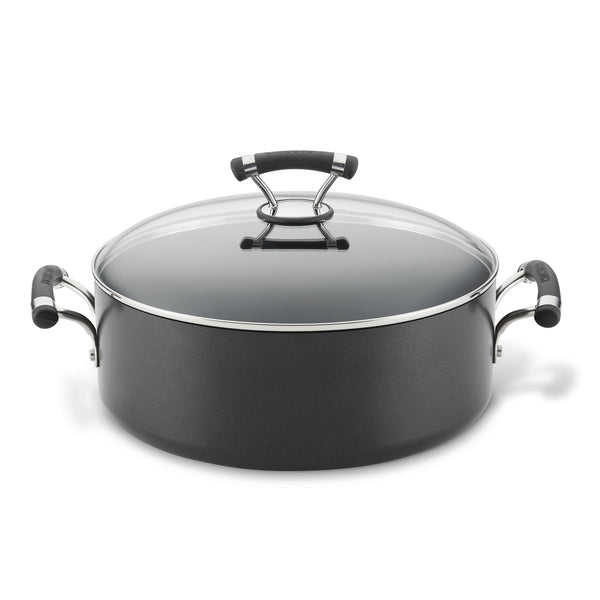 Contempo 7.5-Quart Wide Stockpot