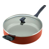 Dishwasher Safe Nonstick 6-Quart Covered Jumbo Cooker