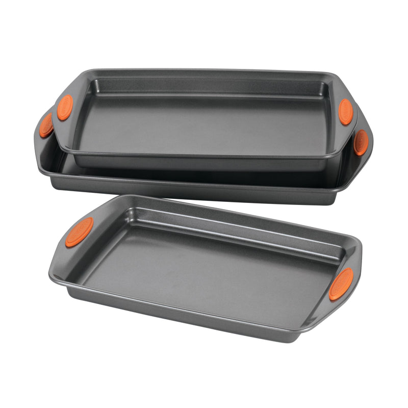 Yum-o! 3-Piece Nonstick Cookie Pan Set