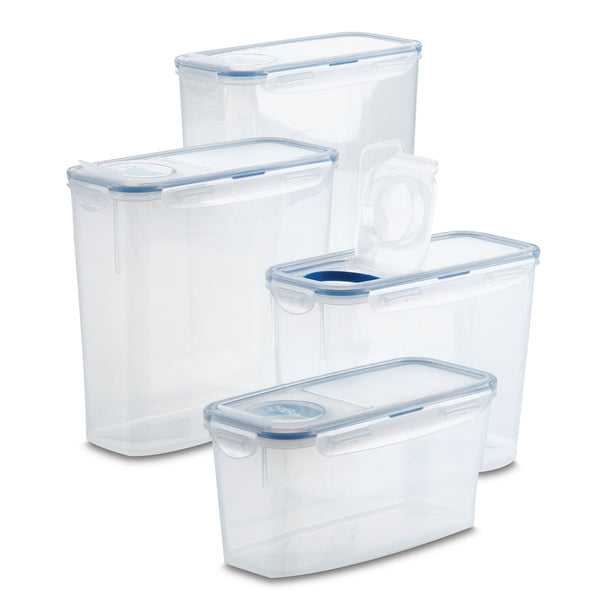 Easy Essentials Twist 8-Piece Container Set