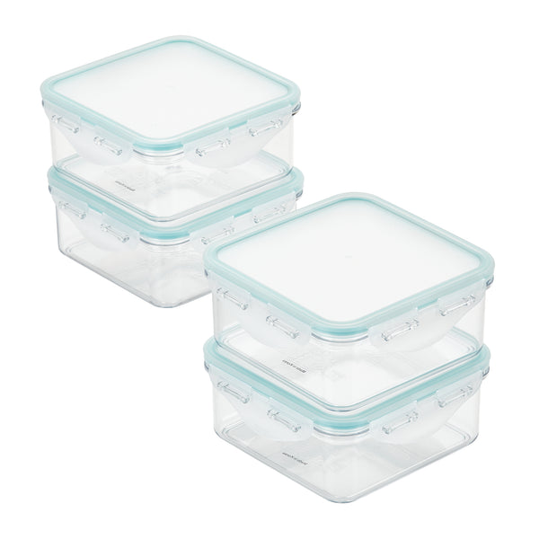 Purely Better 4-Piece 20-Ounce Square Food Storage Containers