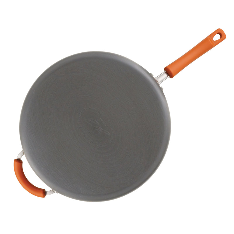 14-Inch Nonstick Skillet with Helper Handle