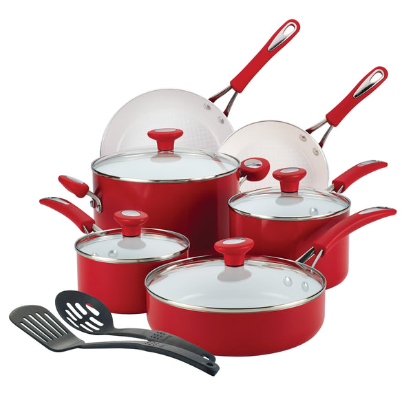 Ceramic 12-Piece Cookware Set