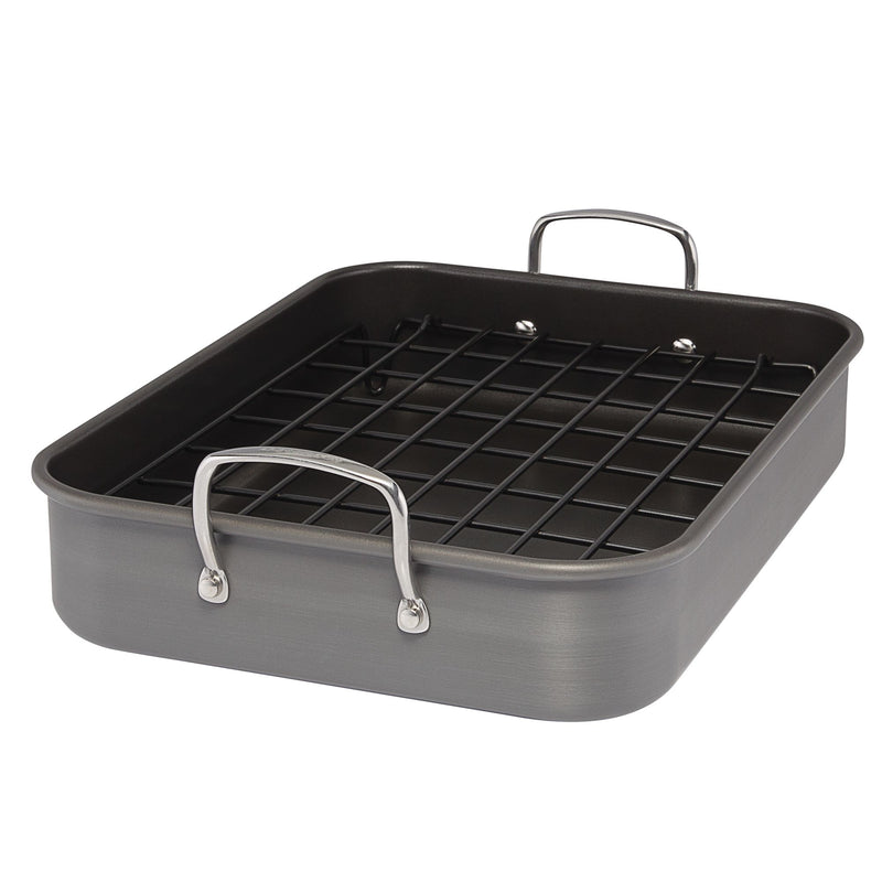 "16"" x 12"" Nonstick Roaster with Rack"