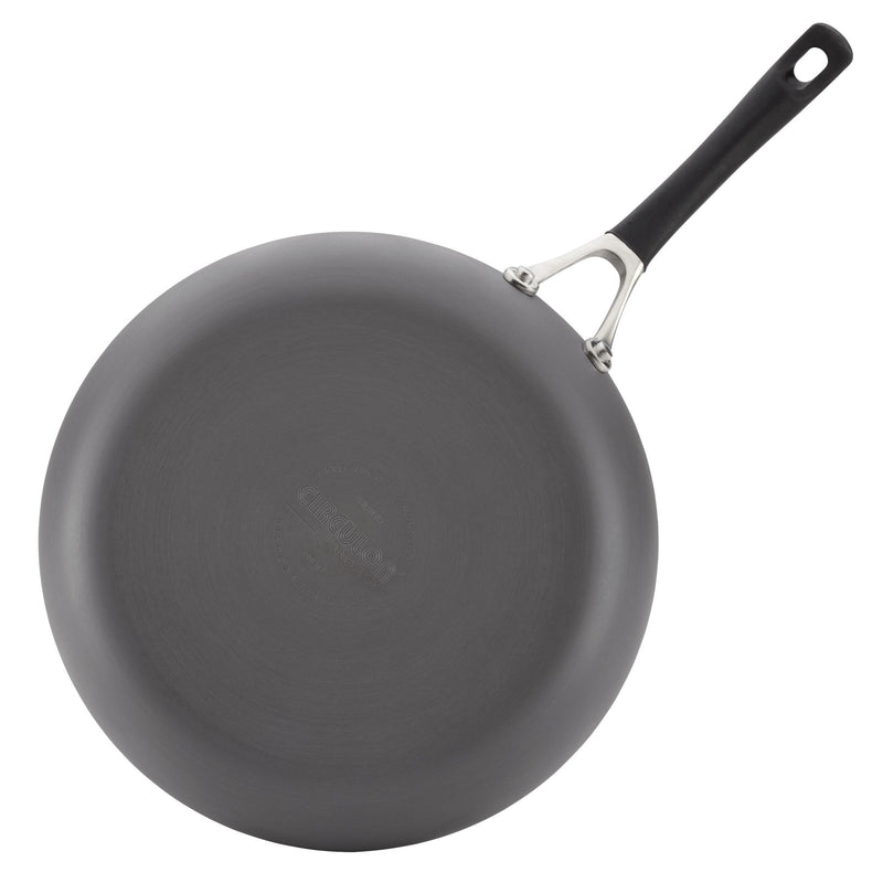 Innovatum Hard Anodized 12-Inch Deep Frying Pan
