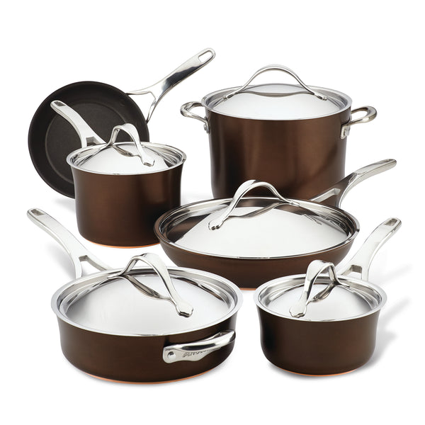 Nouvelle Copper Luxe 11-Piece Cookware Set