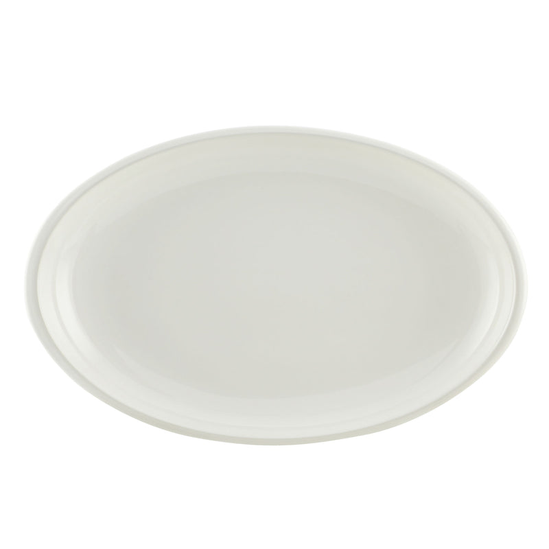 "Rise 9"" x 13"" Oval Serving Platter"