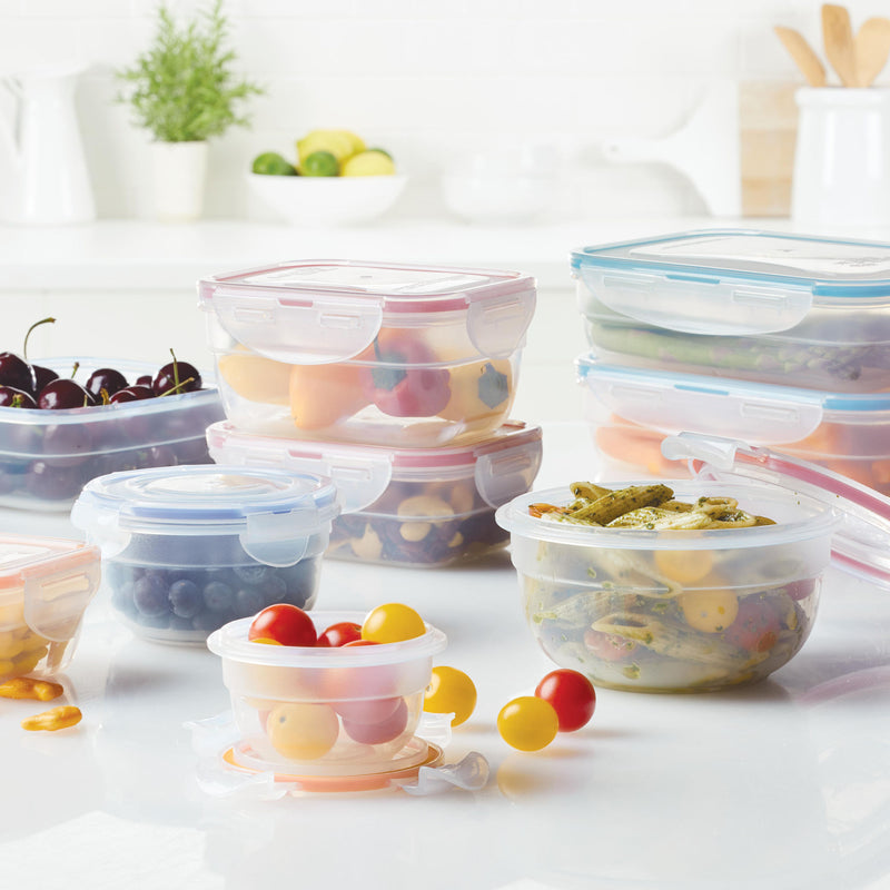Easy Essentials 18-Piece  Assorted Food Storage Container Set