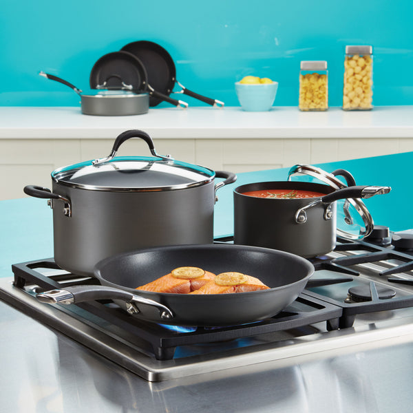 Momentum Hard Anodized 11-Piece Cookware Set