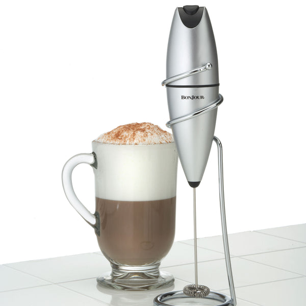 Hand-Held Oval Milk Frother