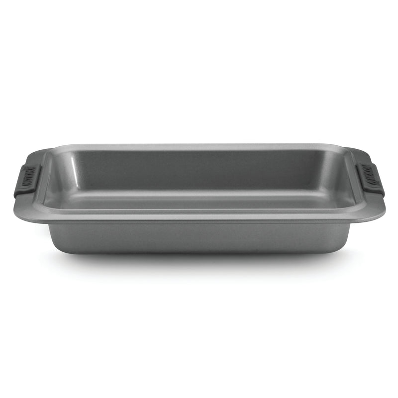 Advanced 9-Inch x 13-Inch Rectangular Cake Pan with Silicone Grips