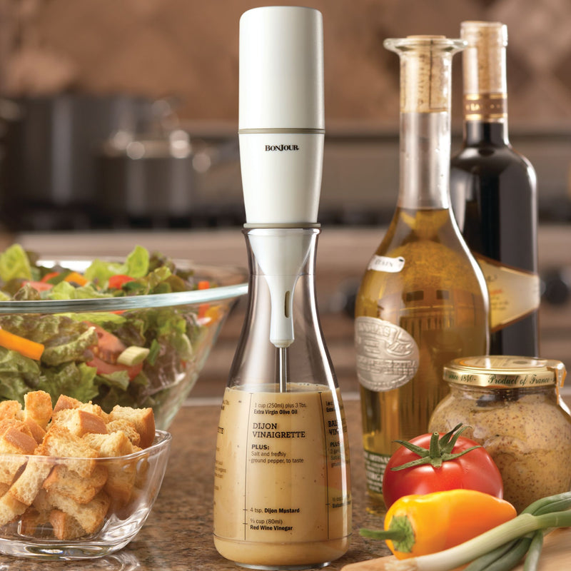 Salad Dressing Mixer with Carafe