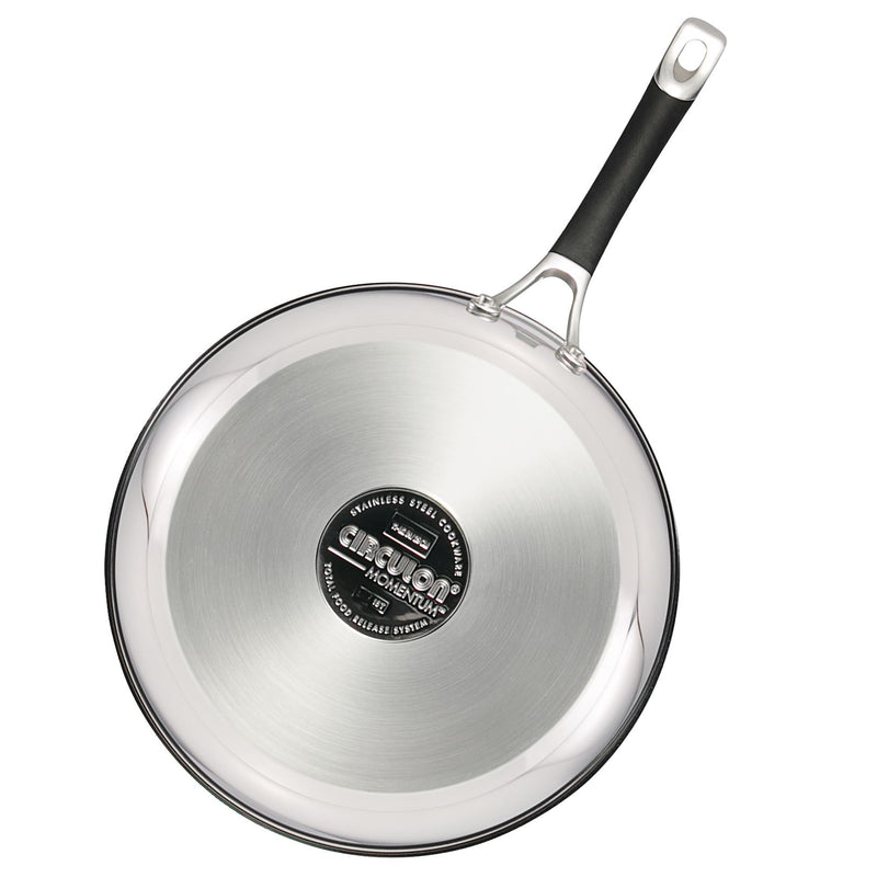 Momentum Stainless Steel 11.5-Inch Nonstick Frying Pan