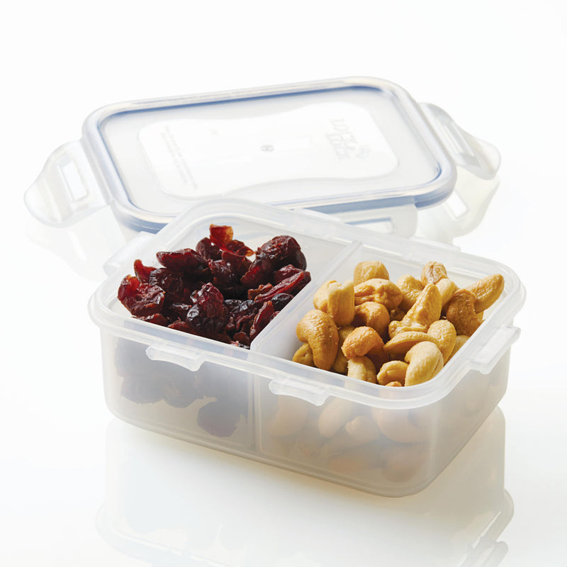 Easy Essentials 3-Piece 12-Oz. Divided Rectangular Container Set