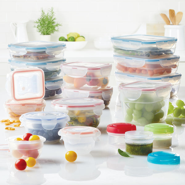 Easy Essentials 36-Piece Assorted Food Storage Container Set