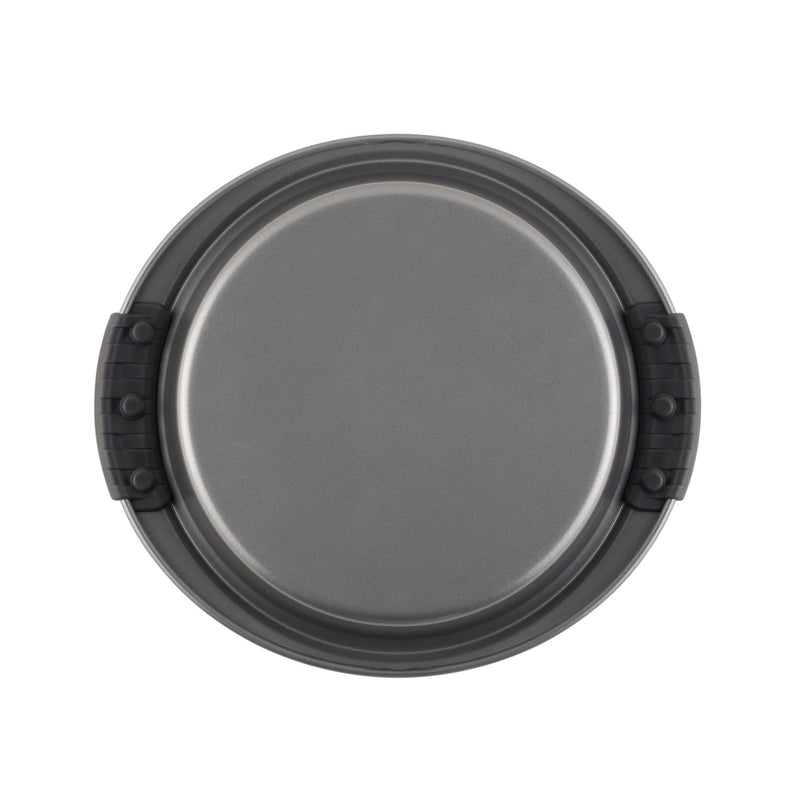 Advanced 9-Inch Round Cake Pan with Silicone Grips