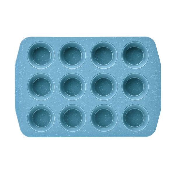 Speckled 12-Cup Muffin Pan