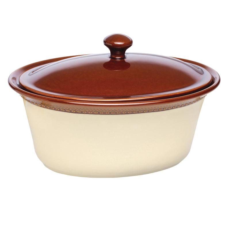 Signature 3.5-Quart Covered Oval Casserole