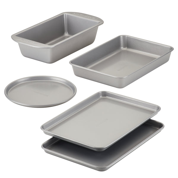 Nonstick 5-Piece Toaster Oven Bakeware Set