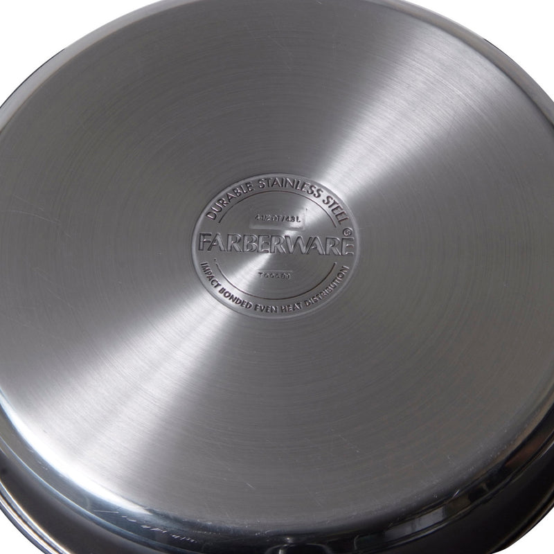 Classic Stainless Steel 10-Inch Covered Saute Pan