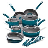 Classic Brights 15-Piece Cookware Set