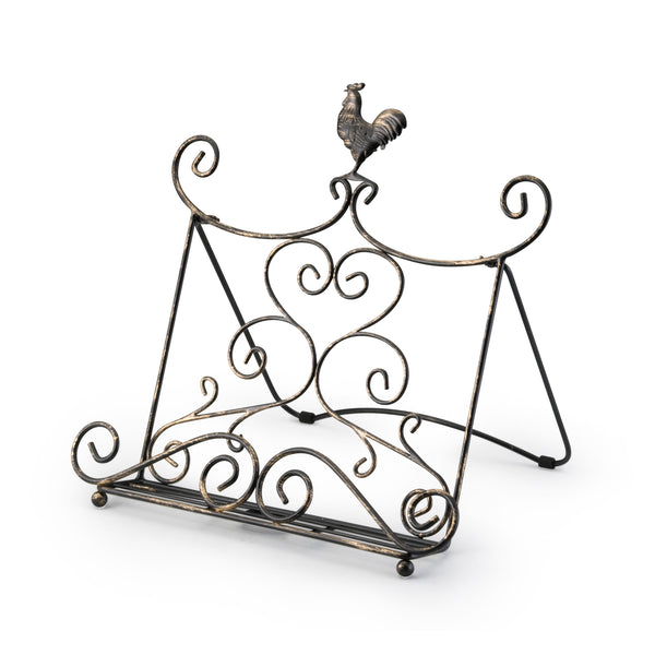 Standing Rooster Cookbook Holder