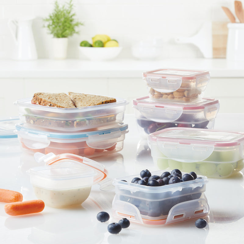 Easy Essentials 14-Piece Assorted Food Storage Container Set