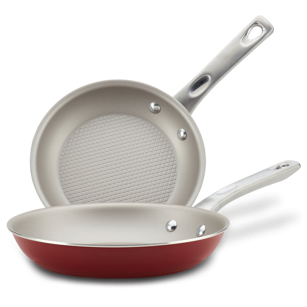 "8.5"" & 10"" Nonstick Frying Pan Set"