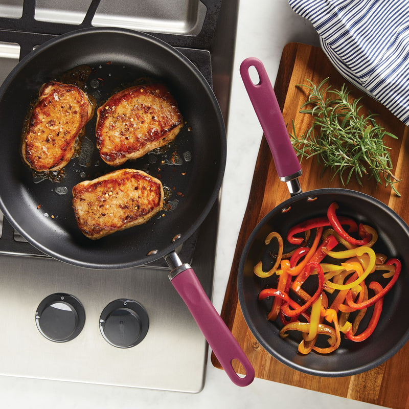 "Create Delicious 9.5"" and 11.75"" Frying Pan Set"