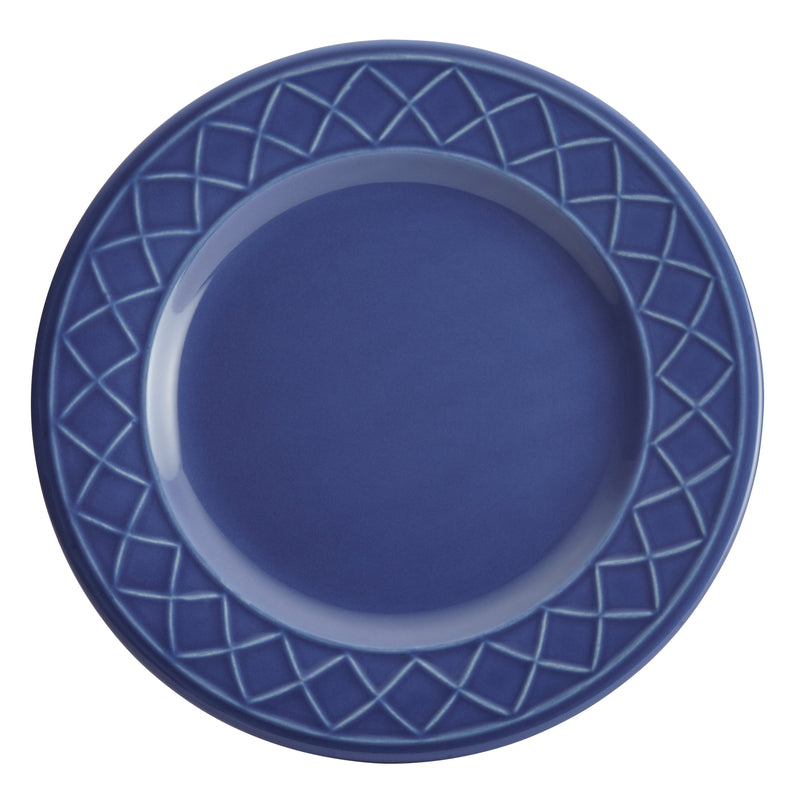 Savannah Trellis 16-Piece Dinnerware Set