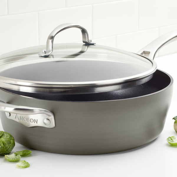 Allure 5-Quart Sauté with Helper Handle