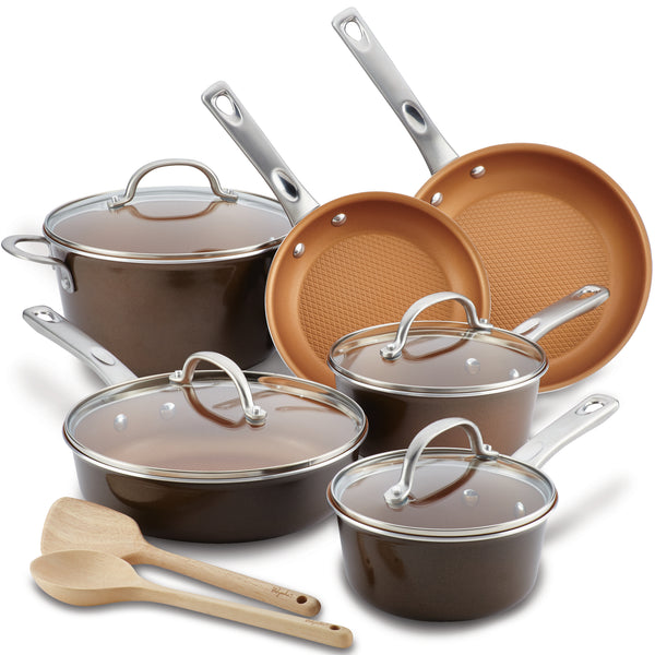 12-Piece Nonstick Cookware Set