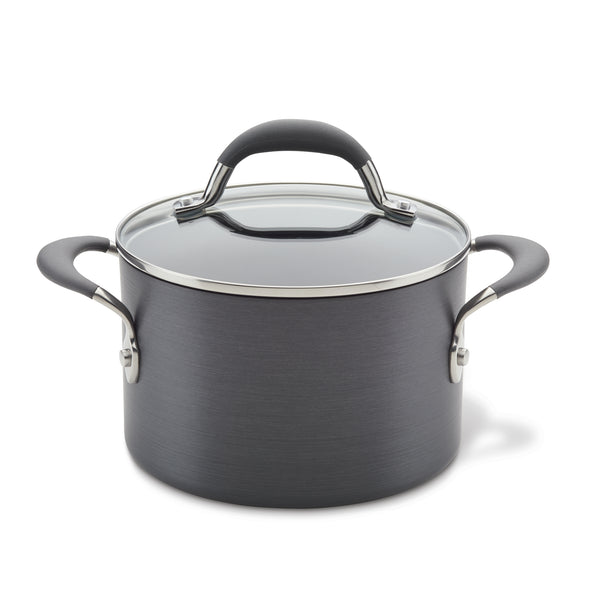 Hard Anodized 3-Quart Saucepot