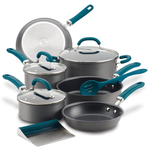 Create Delicious 11-Piece Cookware Set