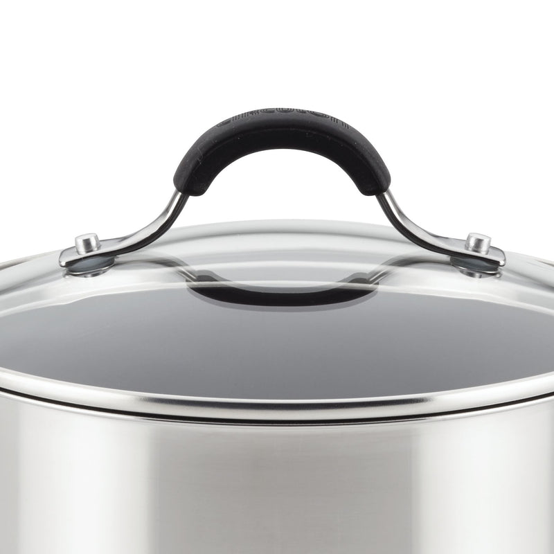 Innovatum Stainless Steel 4-Quart Nonstick Wide Saucepot