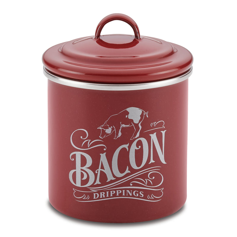 4-Inch by 4-Inch Bacon Grease Can
