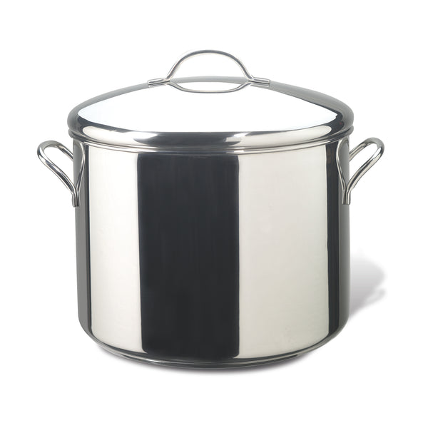 Classic Stainless Steel 16-Quart Covered Stockpot