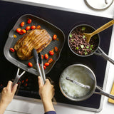 Hard-Anodized Induction 10-Piece Nonstick Cookware Set