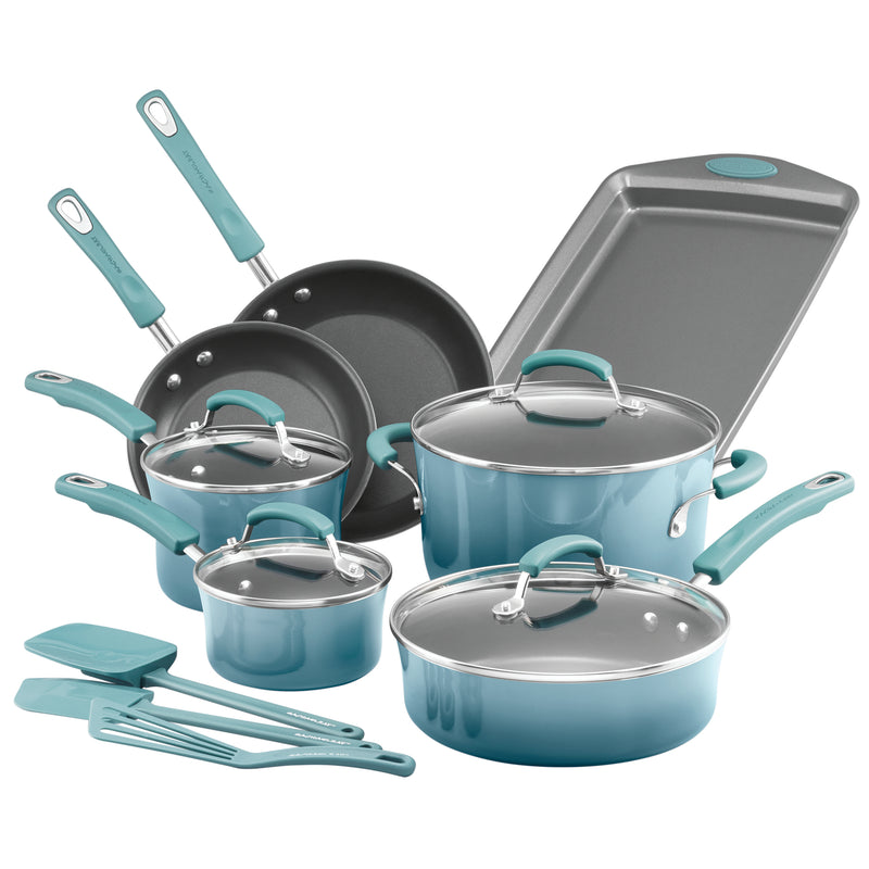 Classic Brights 14-Piece Cookware Set
