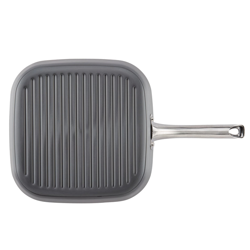 Hard Anodized 11.25-Inch Nonstick Grill Pan