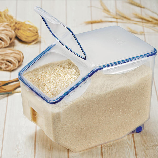 Easy Essentials 50-Cup Dry Food Storage Container with Serving Cup