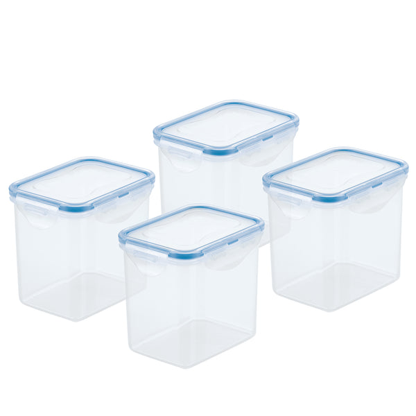 Easy Essentials 4-Piece 3.6-Cup Rectangular Container Set