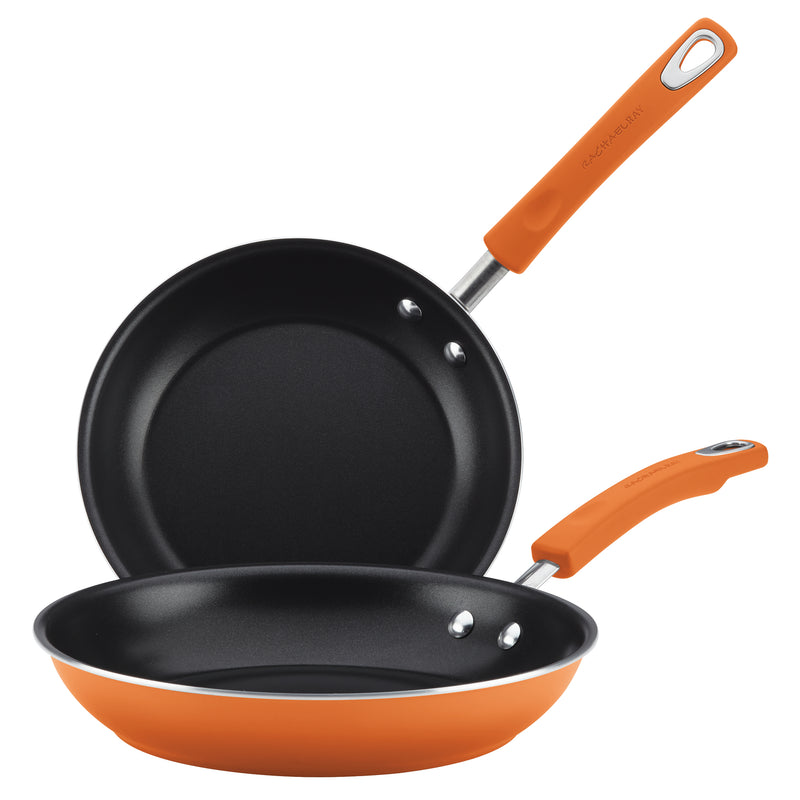 "Classic Brights 9.25"" & 11"" Frying Pan Set"